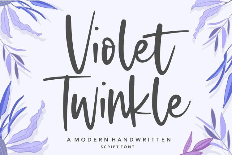 Violet Twinkle Font