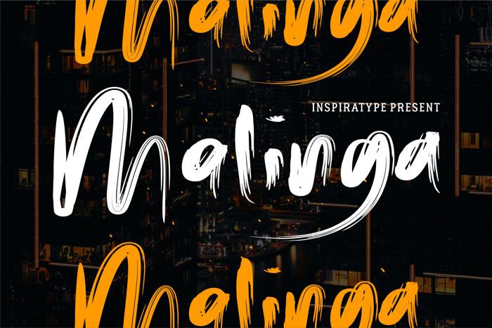 Malinga Font