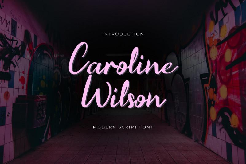 Caroline Wilson Font