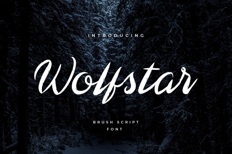 Wolfstar Font