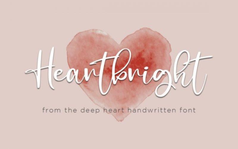 Heartbright Font