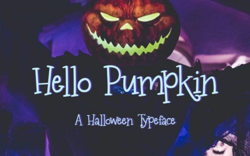 Hello Pumpkin Font