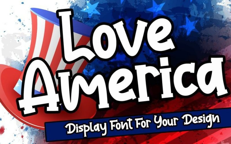 Love America Font