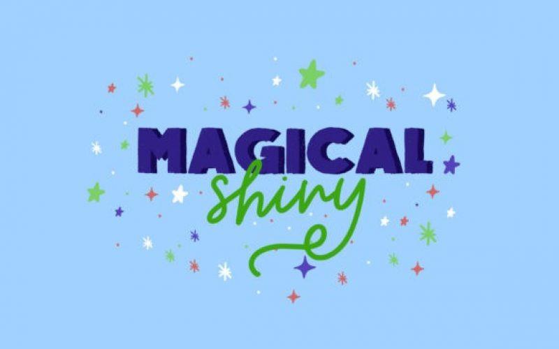 Magical Shiny Font