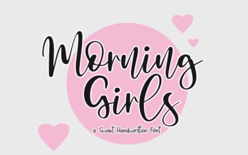 Morning Girls Font