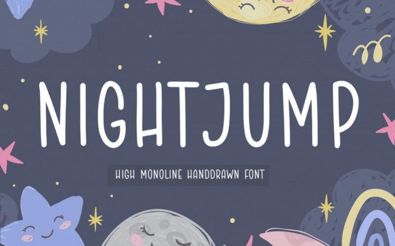 NIGHTJUMP Font