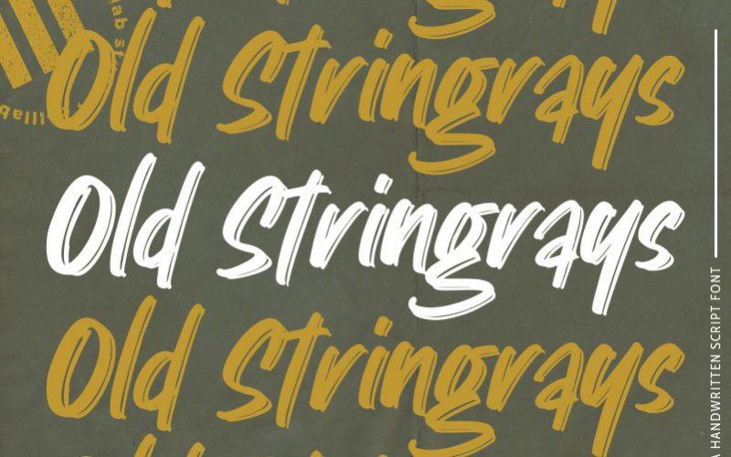 Old Stingray Font