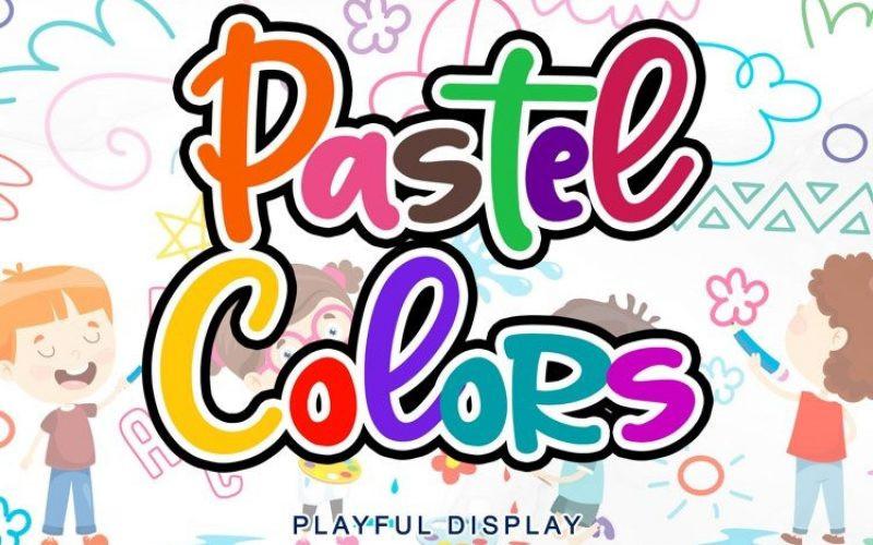 Pastel Colors Font