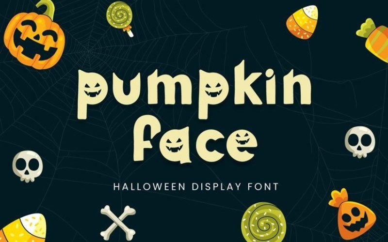 Pumpkin Face Font