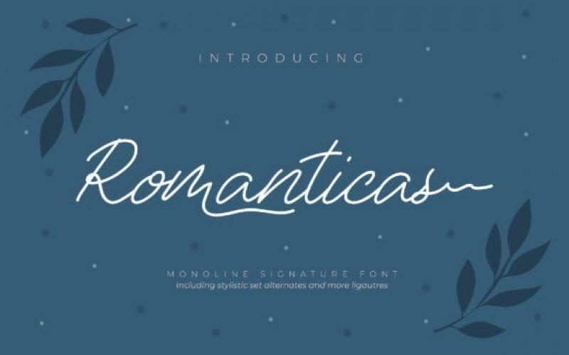 Romanticas Font
