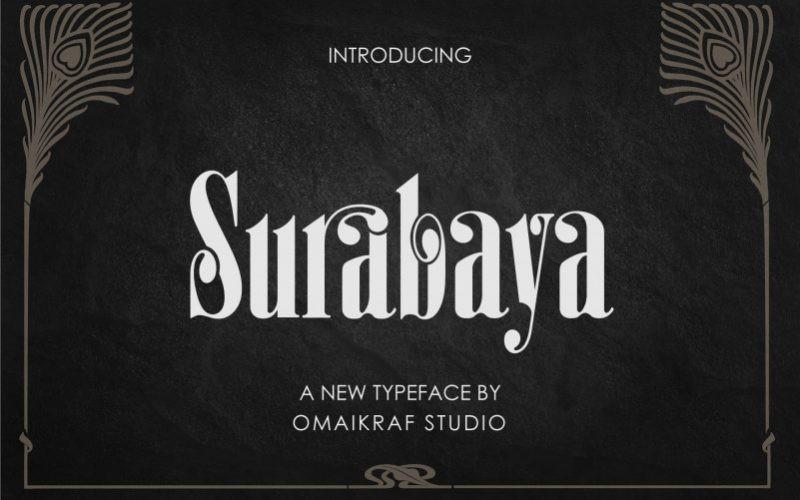 Surabaya Font