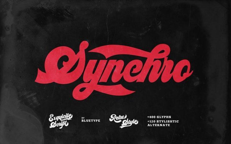 Syncrho Font