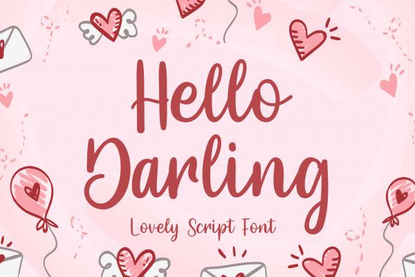 Hello Darling Font