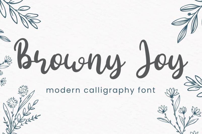 Browny Joy Font