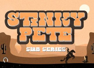 Stinky Pete Trial Font