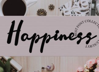 Happiness Font