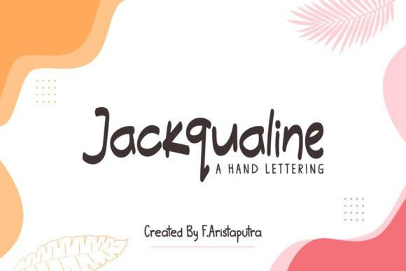 Jackqualine Font