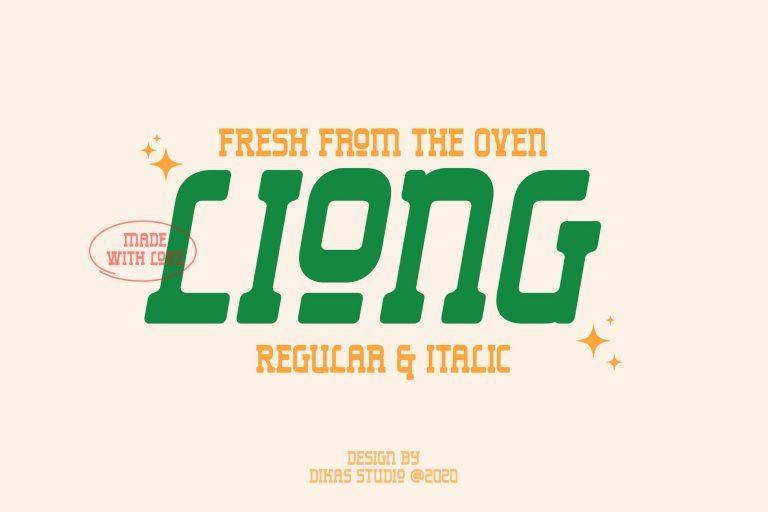 Liong Font