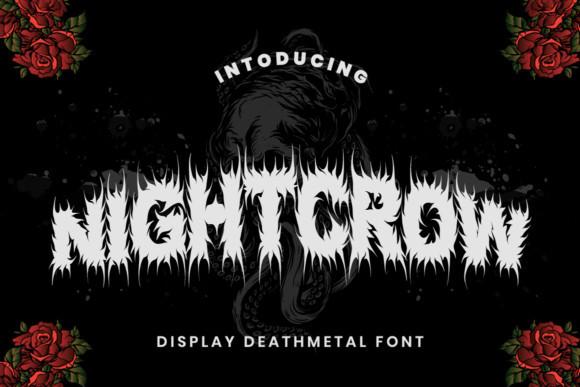 NIGHTCROW Font