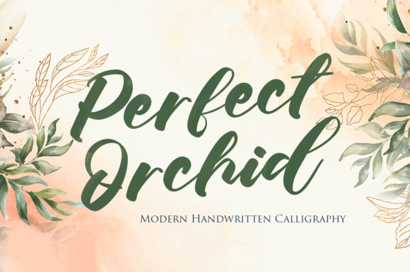 Perfect Orchid Font