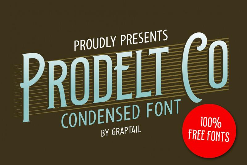 Prodelt Co Font