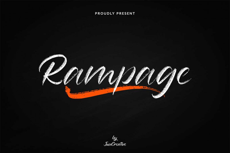 Rampage Font