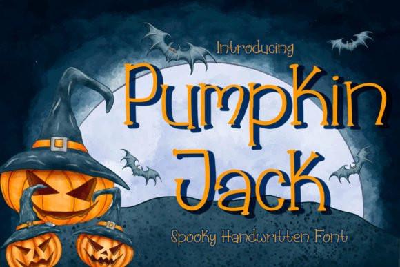 Pumpkin Jack Font