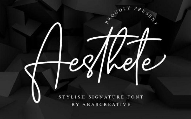 Aesthete Font