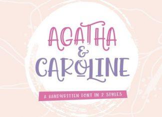 Agatha Caroline Font