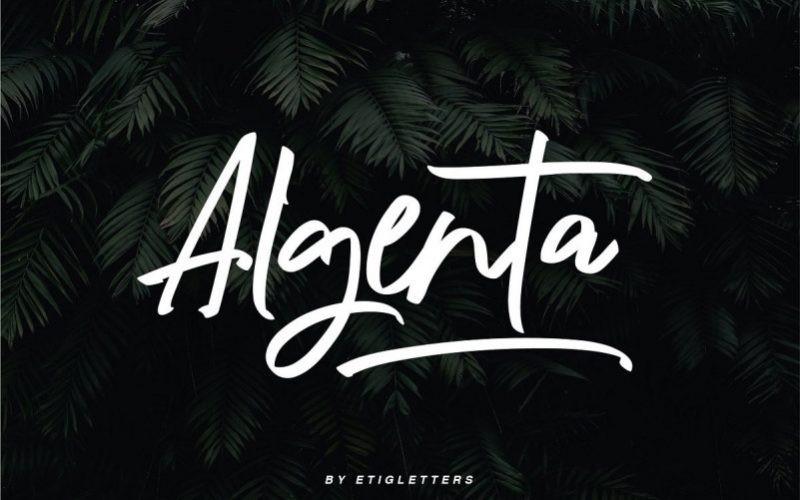 Algenta Font