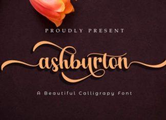 Ashburton Font