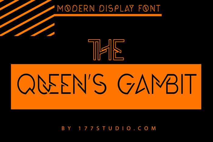 The Queens Gambit Font