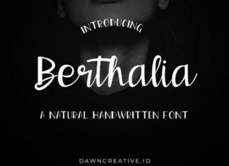 Berthalia Font