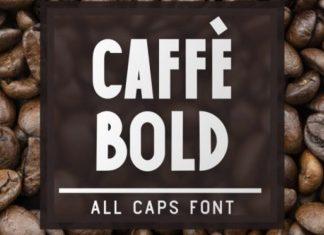 Caffe Bold Font