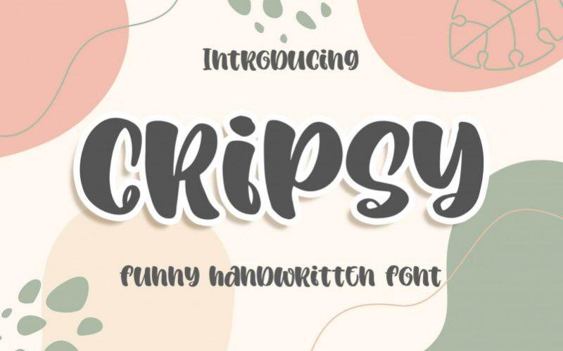 Cripsy Font