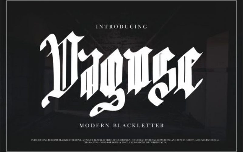 Dagose Font