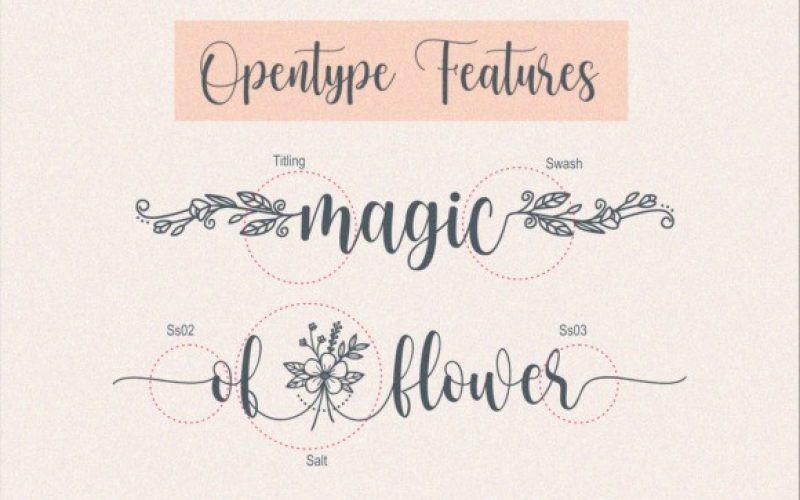Dear Flora Font