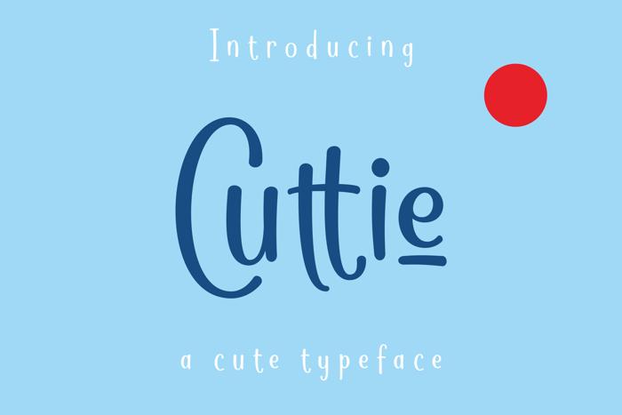 Cuttie Font