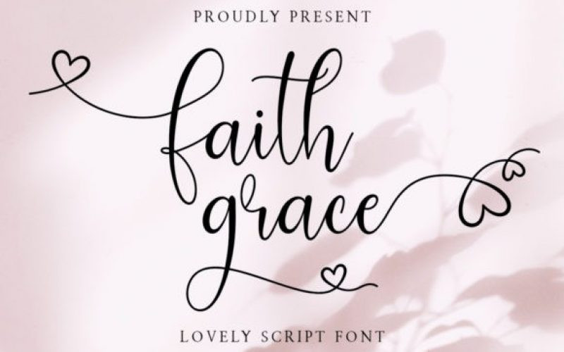 Faith Grace Font