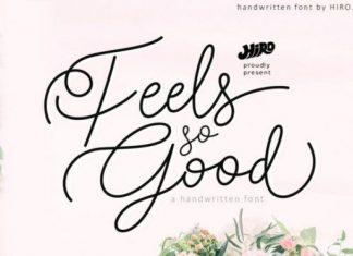 Feels so Good Fuente Font