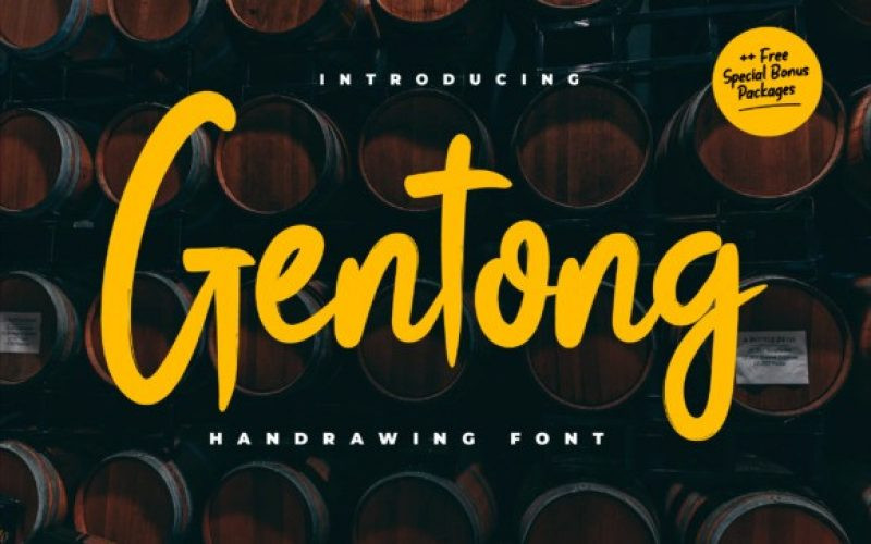 Gentong Font