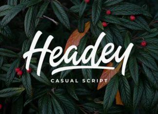 Headey Font