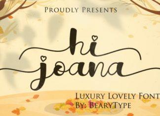 Hi Joana Font