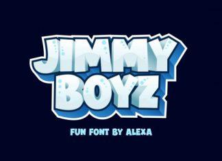 Jimmy Boyz Font