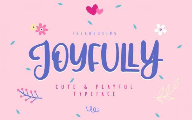 Joyfully Font