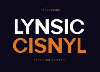 Lynsic Cisnyl Font
