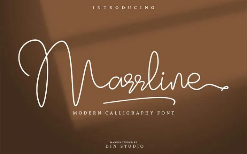 Marrline Font
