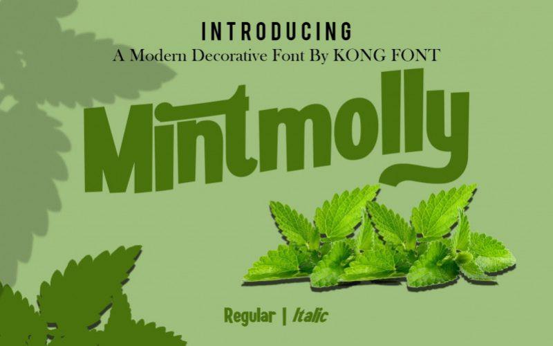 Mintmolly Font