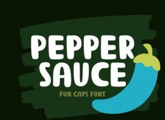 Pepper Sauce Font
