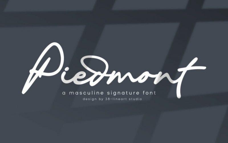 Piedmont Font